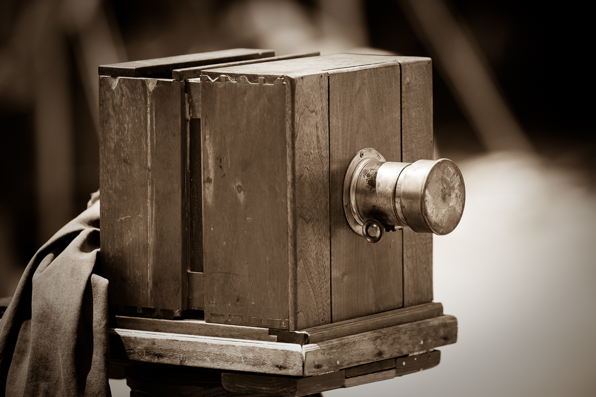1860's style camera